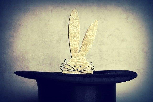 hare, hat, cylinder