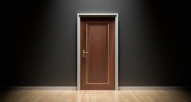 door, bad luck, 13