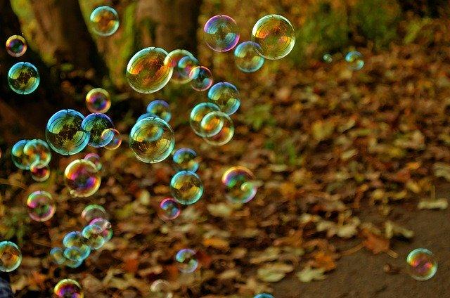 soap bubbles, bubbles, fun