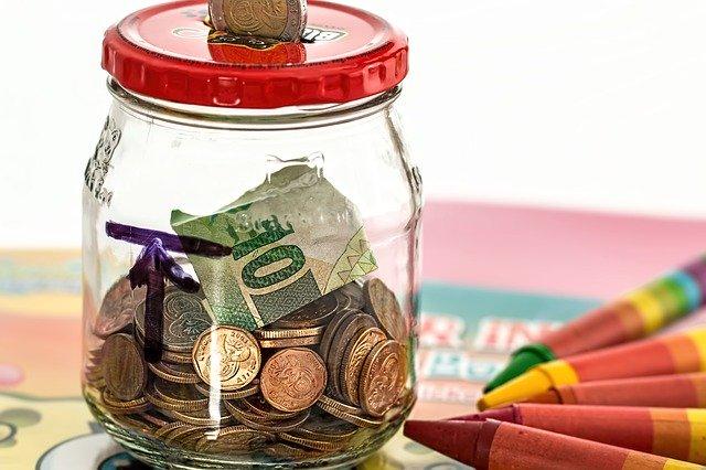 piggy bank, savings, coins